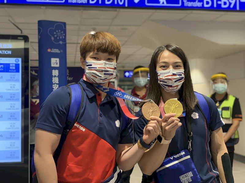 東奧選手返台 郭婞淳陳玟卉成焦點