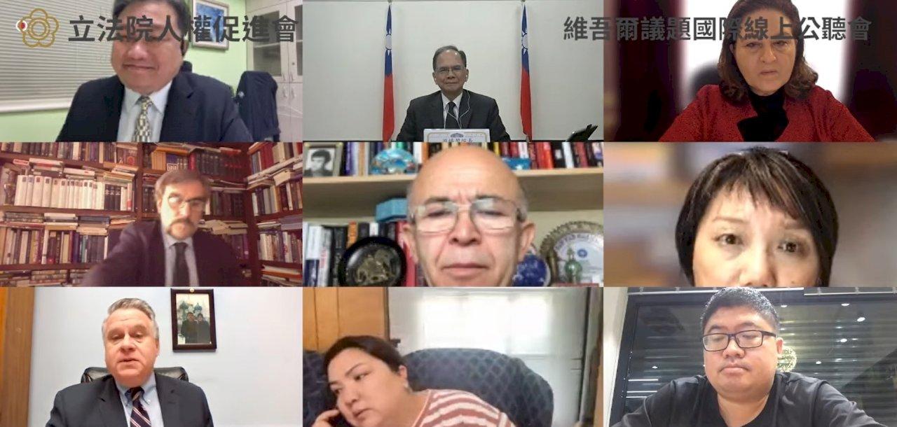立法院首場維吾爾議題公聽會 二倖存者親述遭遇