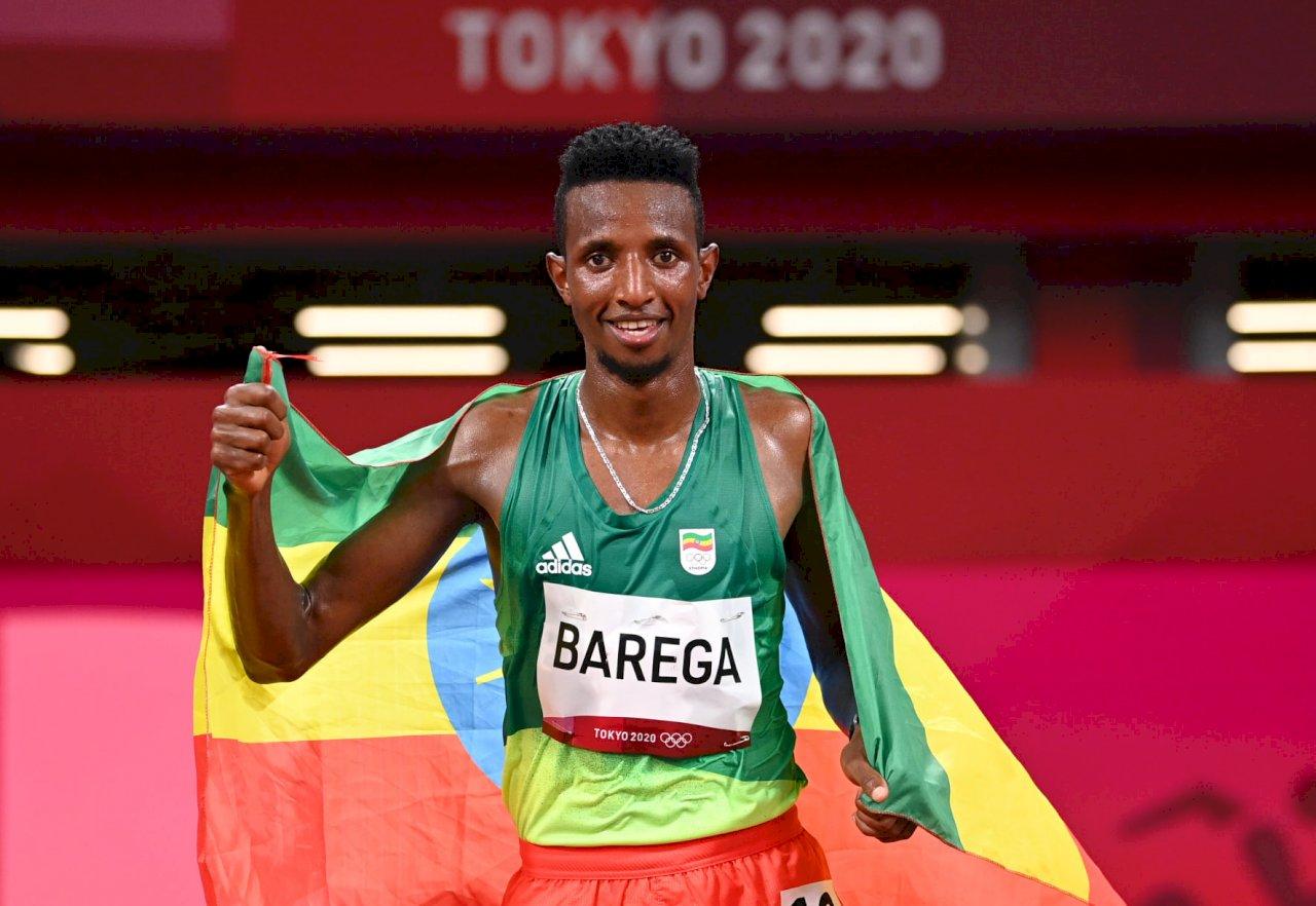 東奧田徑首金出爐 衣索比亞巴雷加男子萬米稱王