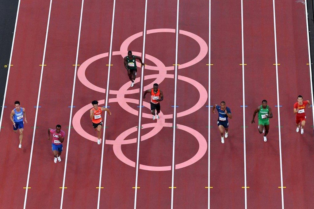 楊俊瀚100公尺10秒21 分組第5名無緣晉級