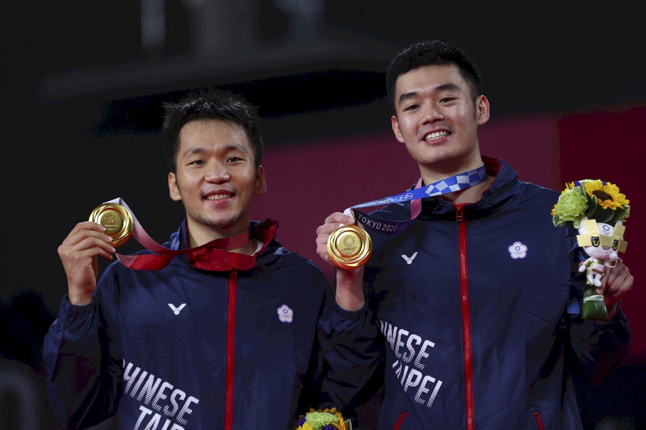 奧運鍍金超興奮 「麟洋配」驕傲:我們來自台灣
