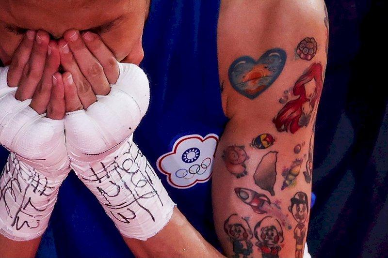 黃筱雯把台灣刺在手臂帶上擂台 東奧拳擊力拚獎牌成色