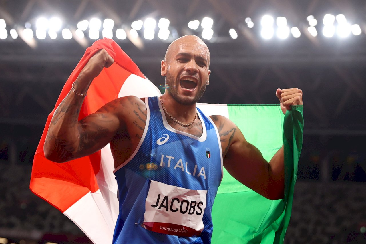 東奧田徑男子百米短跑決賽 義選手9秒80鍍金