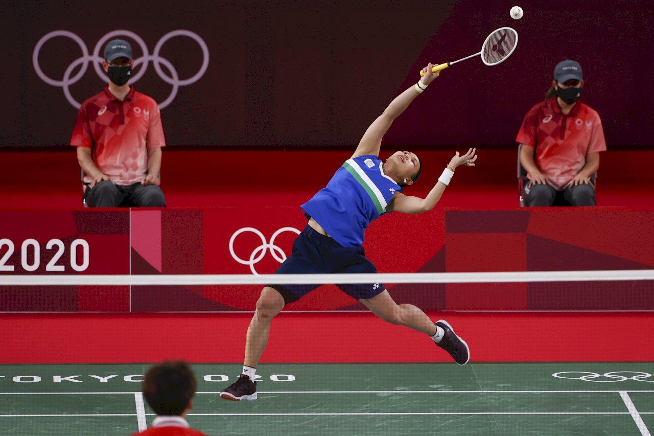 可惜!不敵陳雨菲  戴資穎奧運羽球女單「銀」恨