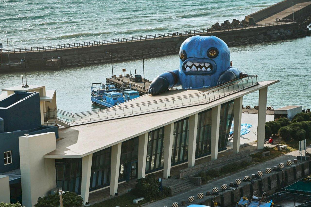 看海美術館--春江獸月夜