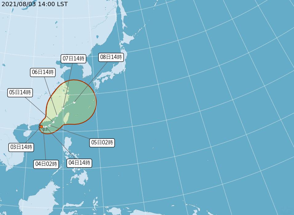 颱風盧碧最快今晚形成 中南部可能局部大雨或豪雨