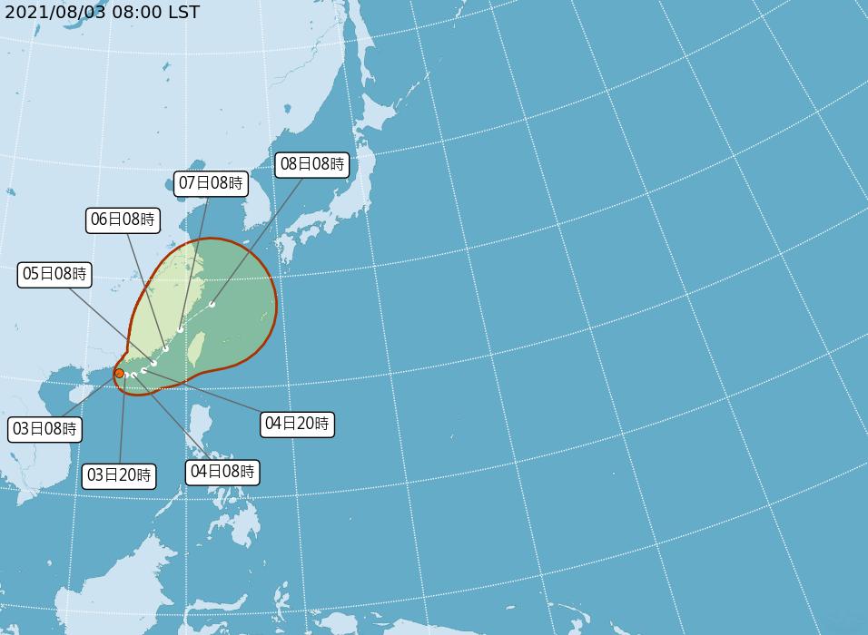 熱低壓最快今天升格颱風  對台影響需密切觀察