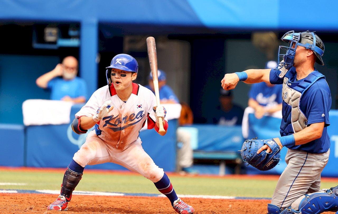 東奧棒球 韓國11比1大勝以色列率先晉級四強