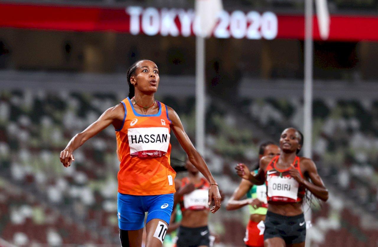 長跑好手哈山東奧5000公尺摘金 朝奧運3冠夢邁進