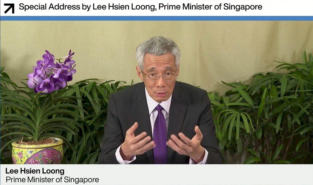 李顯龍:美副總統將在2週後訪問新加坡和越南