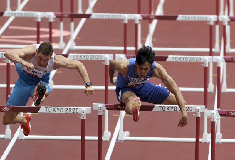 陳奎儒110公尺跨欄準決賽13秒57 無緣晉級決賽