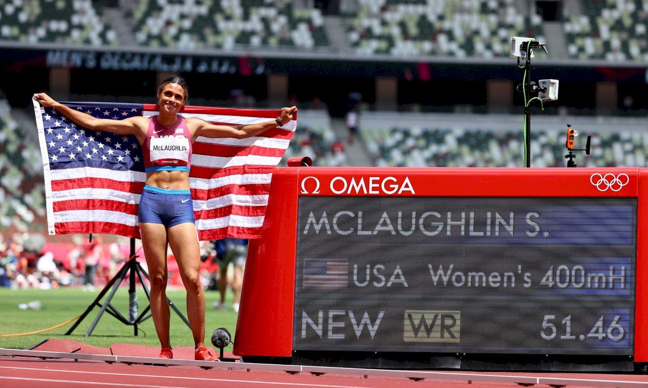 美國女將東奧400跨金包銀 成績皆破世界紀錄