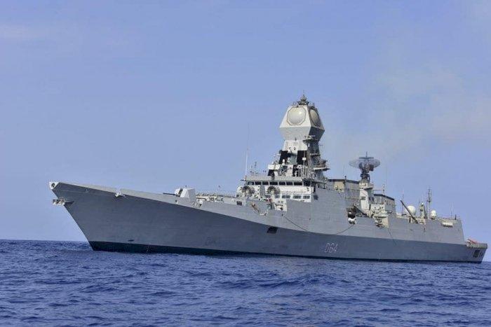 印度南海部署戰艦 「東進」政策一部份行動