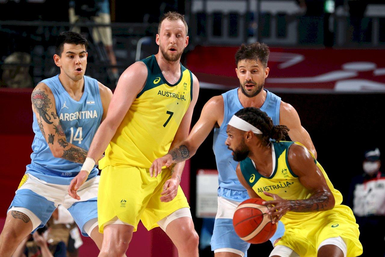 東奧男籃澳洲大勝阿根廷 4強對決美國