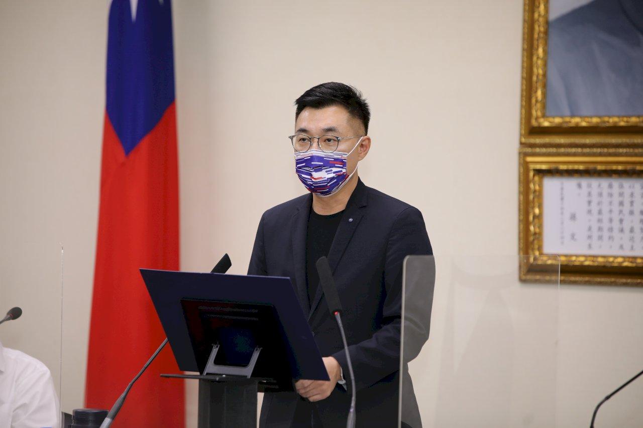 支持度超越民進黨 江啟臣:領導力是在黨最艱困時願意承擔