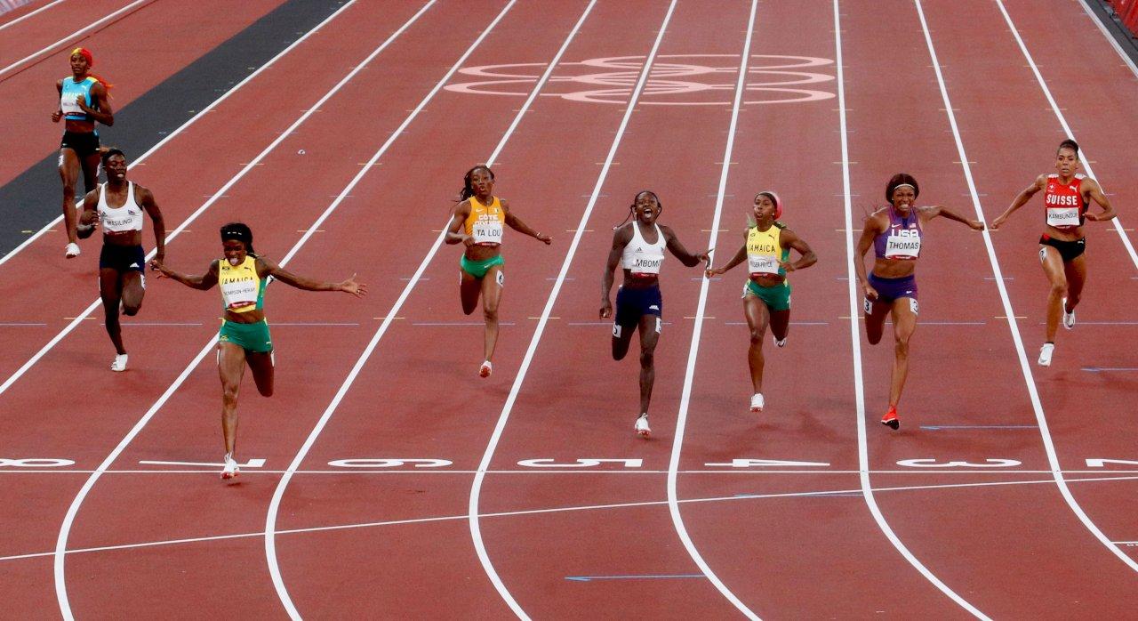 湯普森-赫拉制霸女子短跑 連兩屆奧運包辦雙金