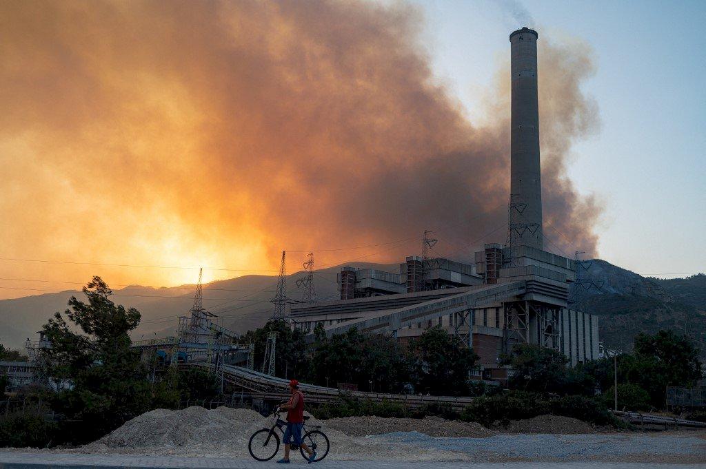 土耳其8天近200起森林野火 電廠危在旦夕