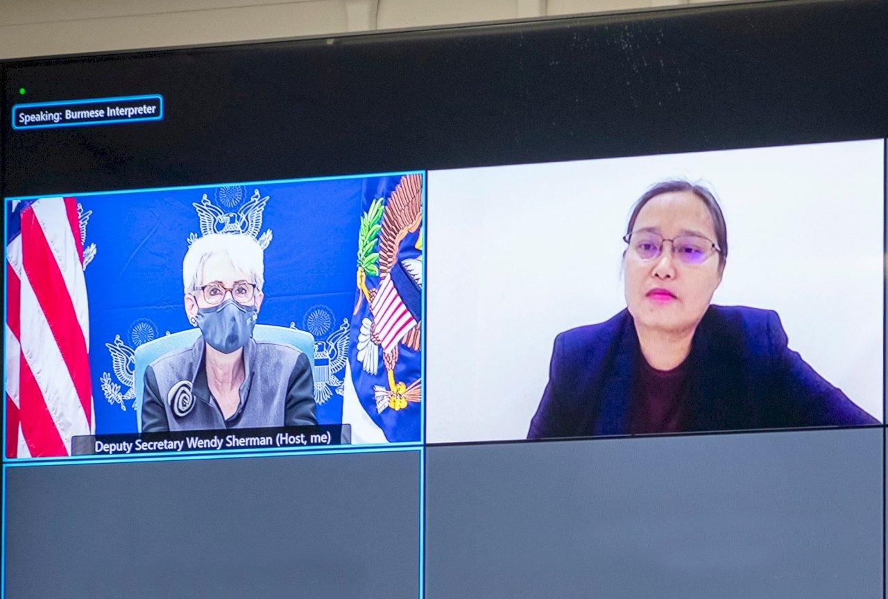 東協任緬甸特使 美副國務卿與影子政府代表通話
