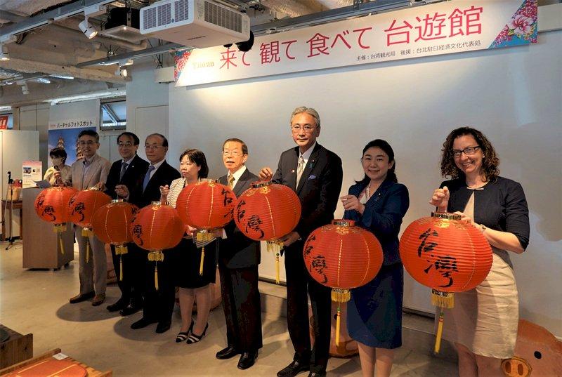 觀光局東京設台遊館 東奧台灣隊表現佳受矚目