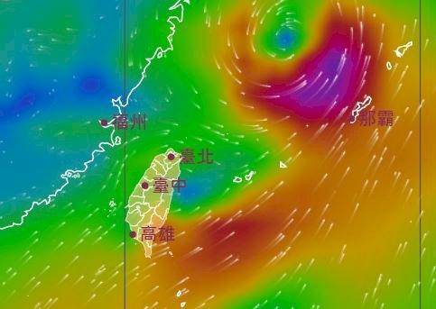 受強盛西南風影響 今明兩天中南部仍須嚴防豪大雨