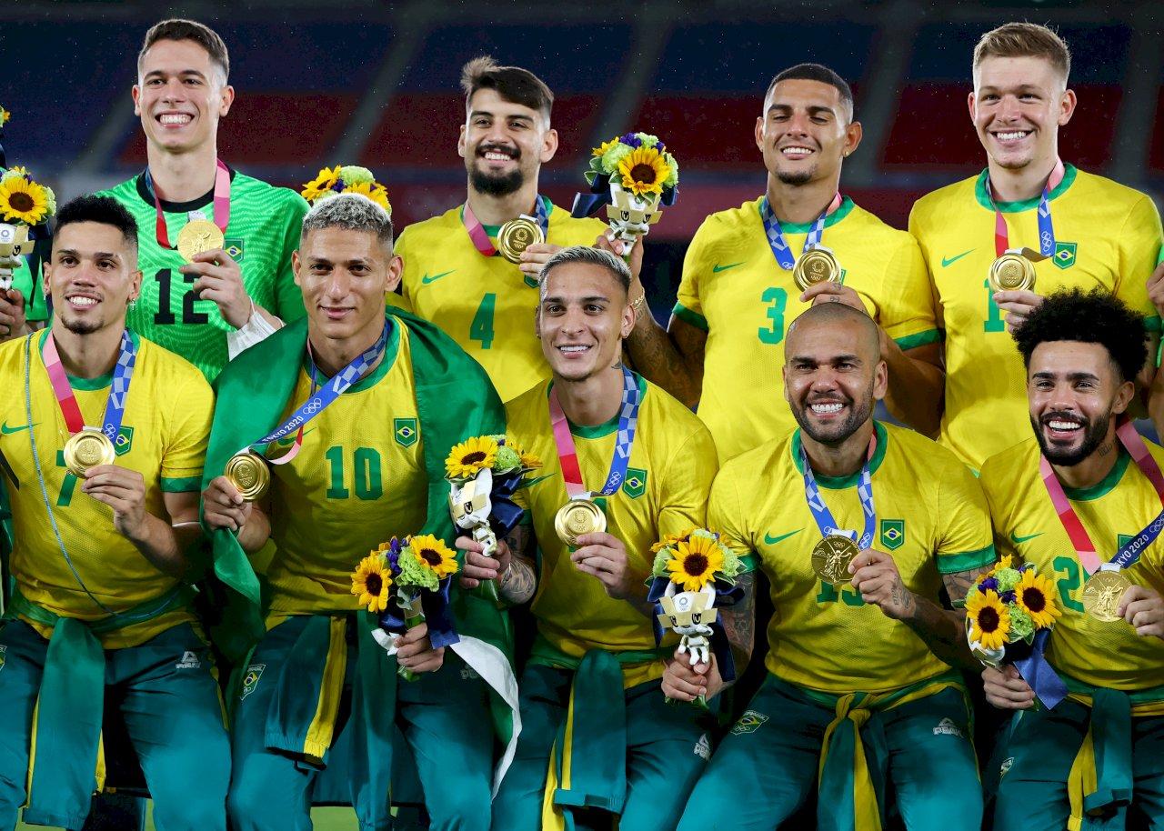 東奧巴西一日進帳三金 男足衛冕成功