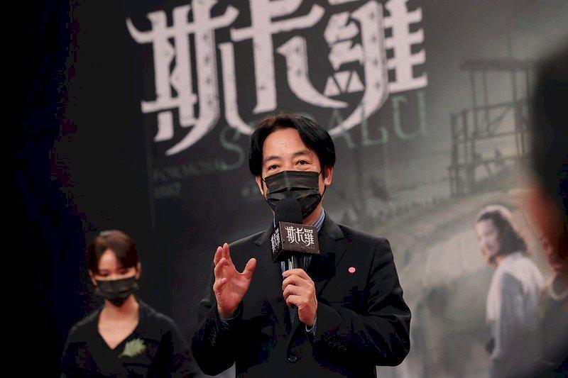 賴清德:追完奧運要追斯卡羅 多了解台灣歷史