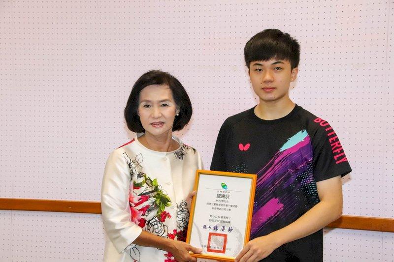 回饋基層學校! 林昀儒獲宜縣60萬獎金「全數捐出」