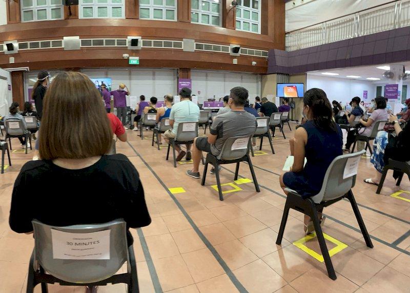 新加坡力拚疫苗涵蓋率 民眾無須預約就能直接打