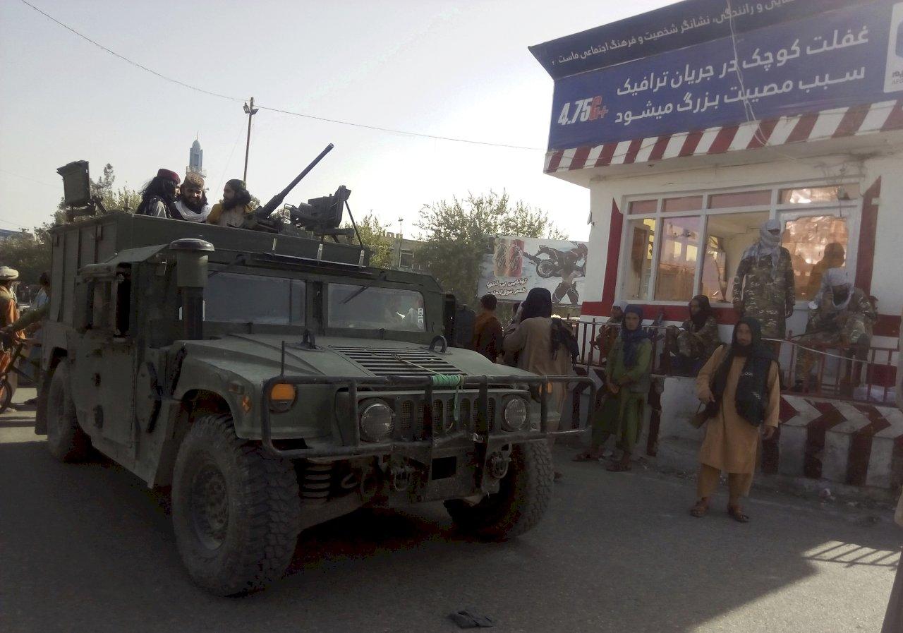 阿富汗政府潰不成軍 解析塔利班下一步