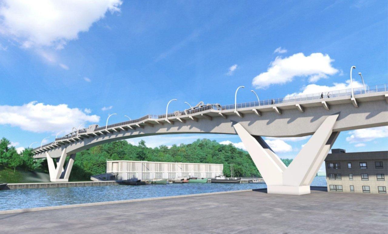 南方澳跨港大橋重建進度超前 可望明年10月如期完工