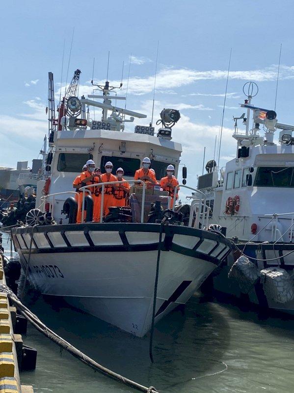 金門海巡新艇報到 海域執法添生力軍