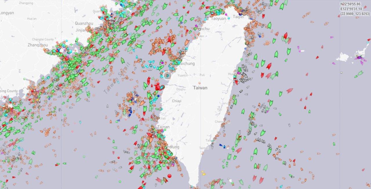 法艦現身彰化外海 國防部:台海周邊情勢正常