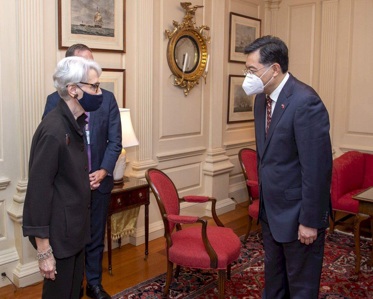 秦剛:台灣是美中關係最重要的問題