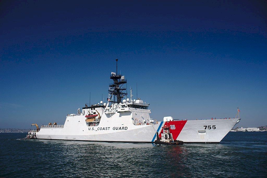 美軍海巡艦「穆洛號」部署西太平洋 支援印太戰區