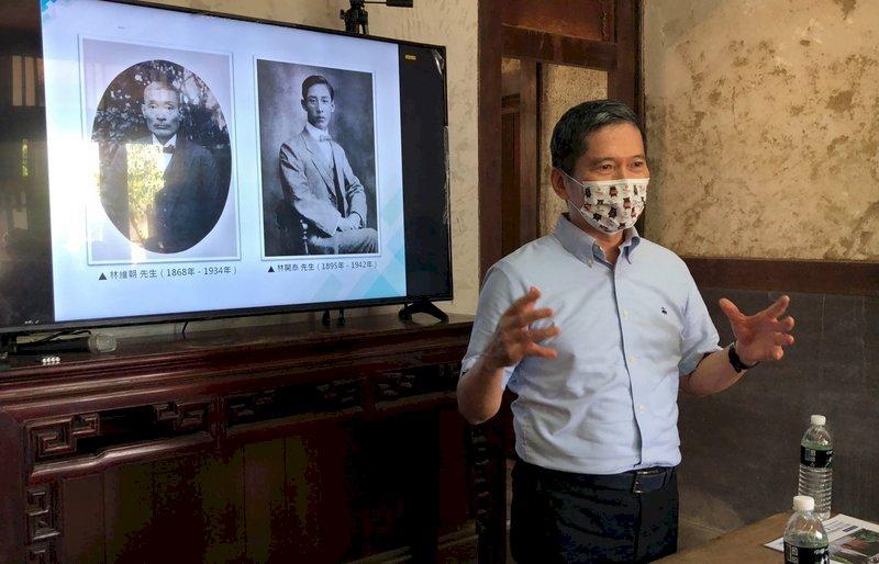 視察林懷民祖父診療所 李永得:重要文化資產