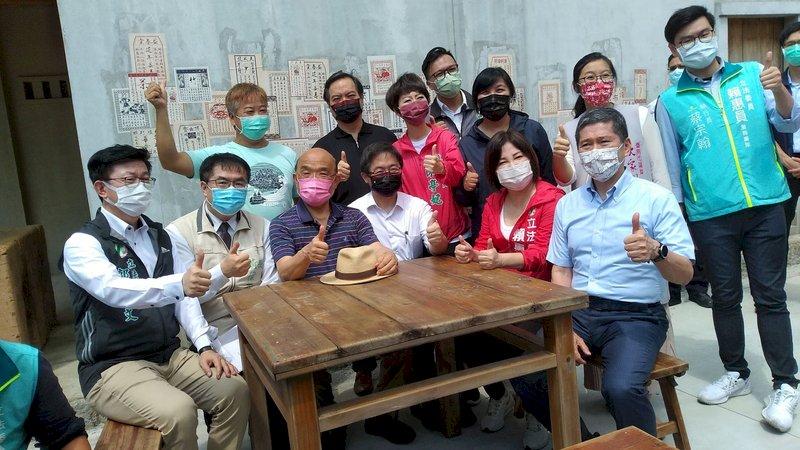 斯卡羅熱映 蘇貞昌:喚醒台灣人當家作主的DNA