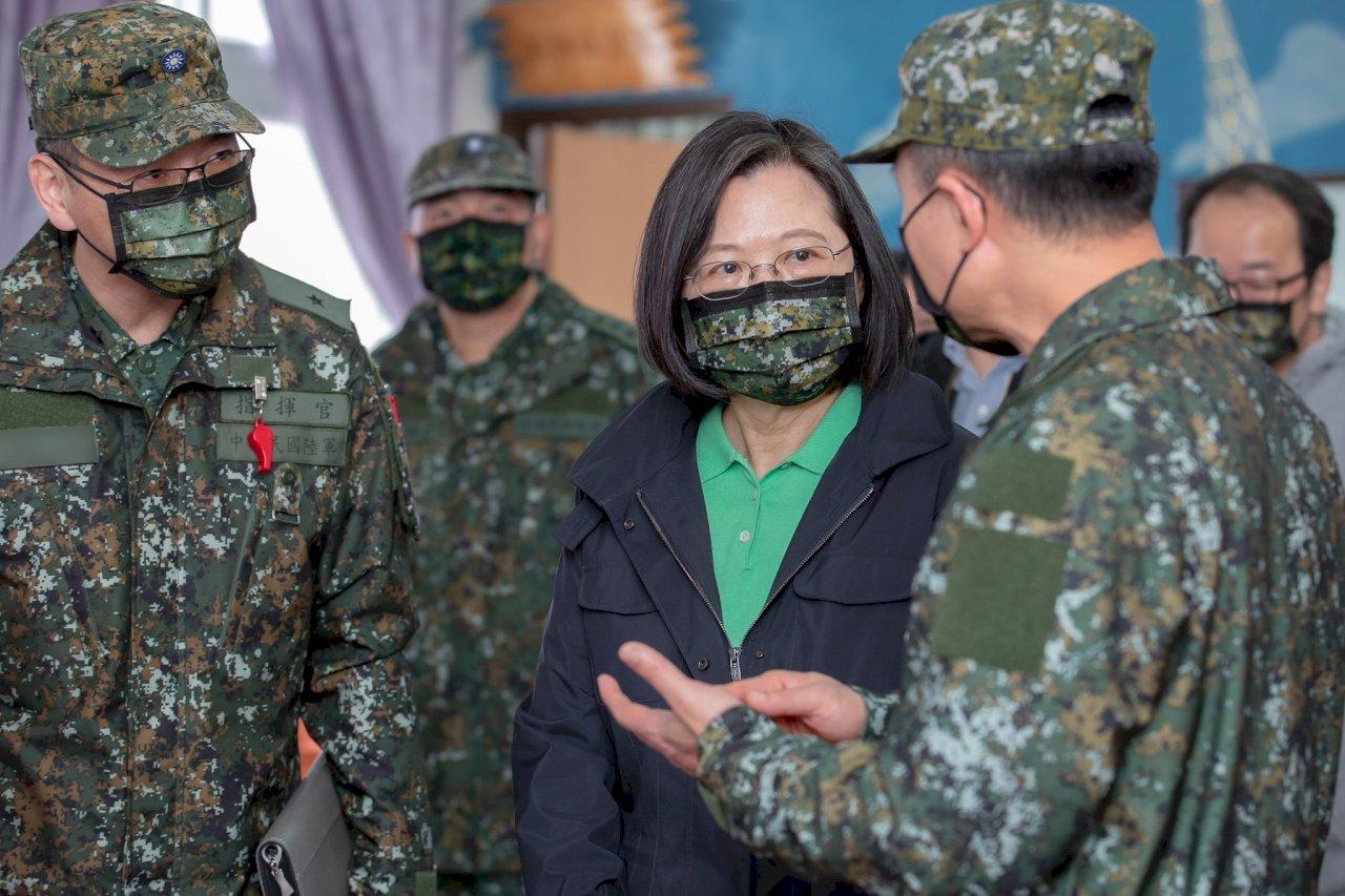 阿富汗情勢引棄台論 蔡總統:台灣唯一選項是讓自己更強大