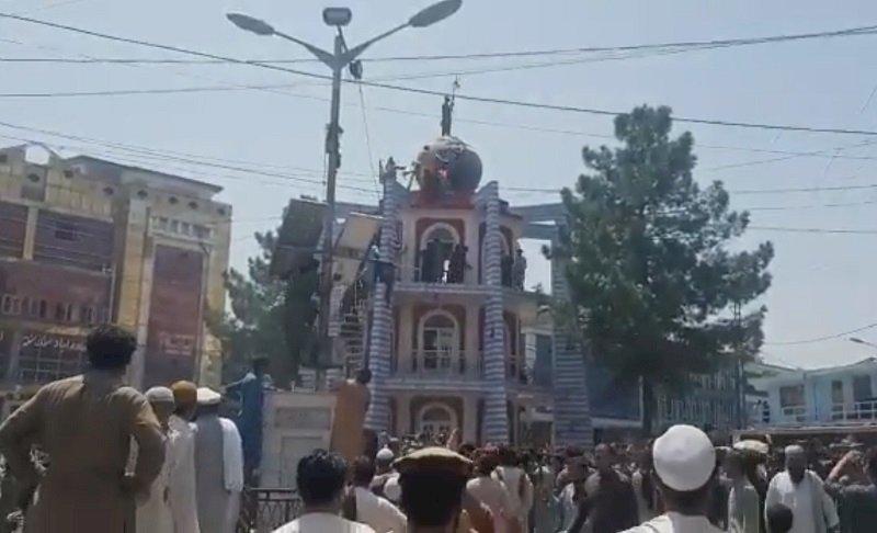 阿富汗大城首見示威 塔利班開槍3死10多傷