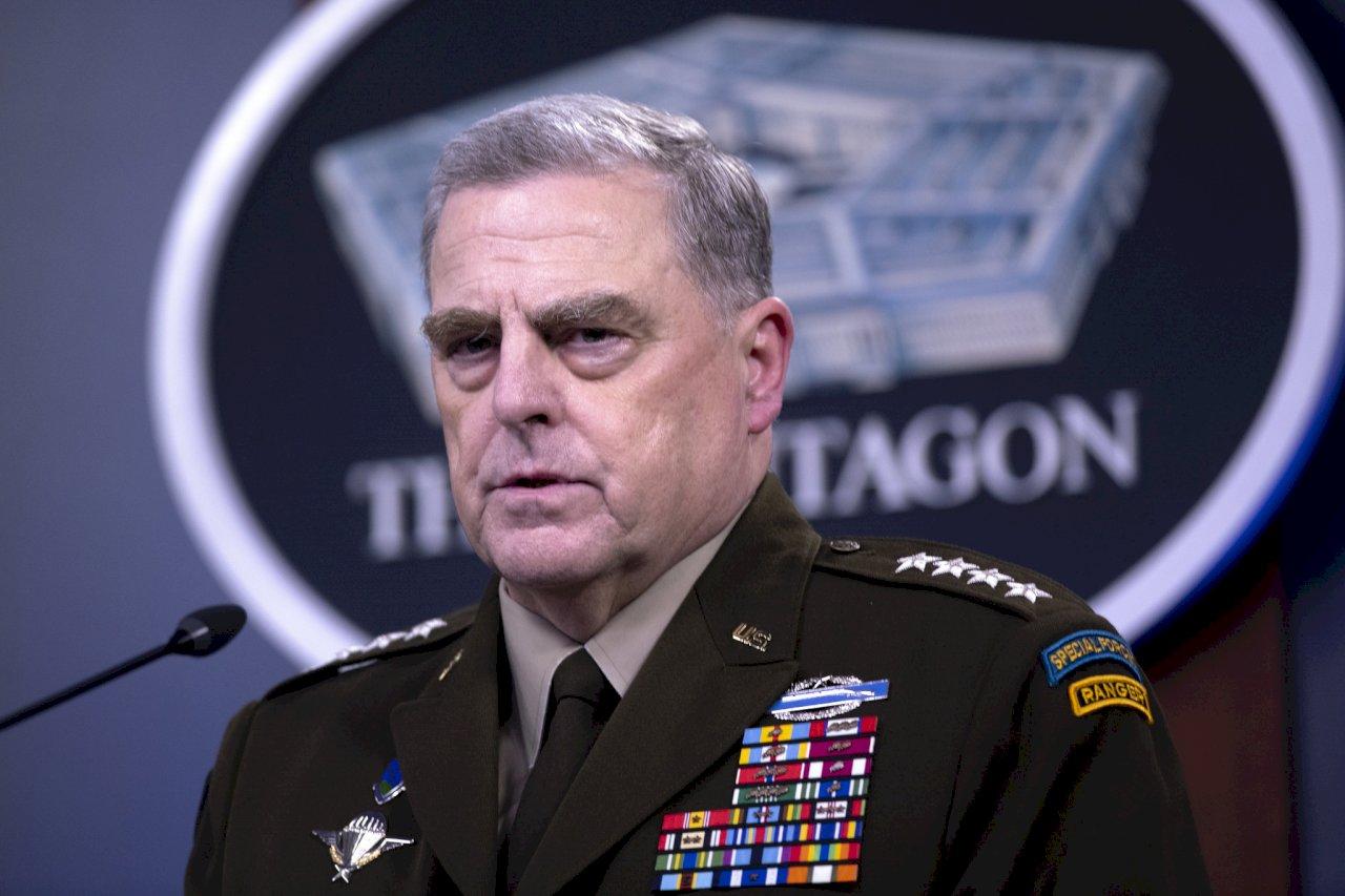美參謀首長承認致電解放軍:這合乎我職責