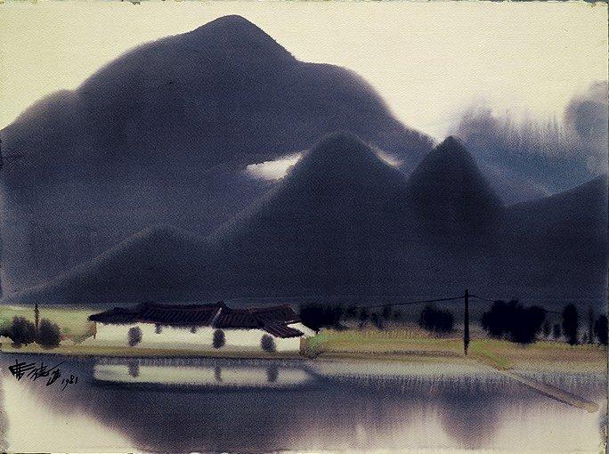 席德進逝世40週年  國美館推巡迴紀念展覽