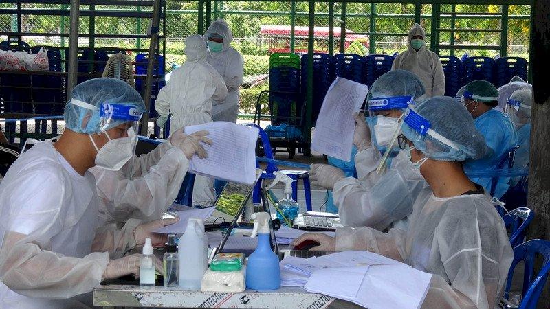 泰國確診數突破1百萬大關 當局擬施打追加劑