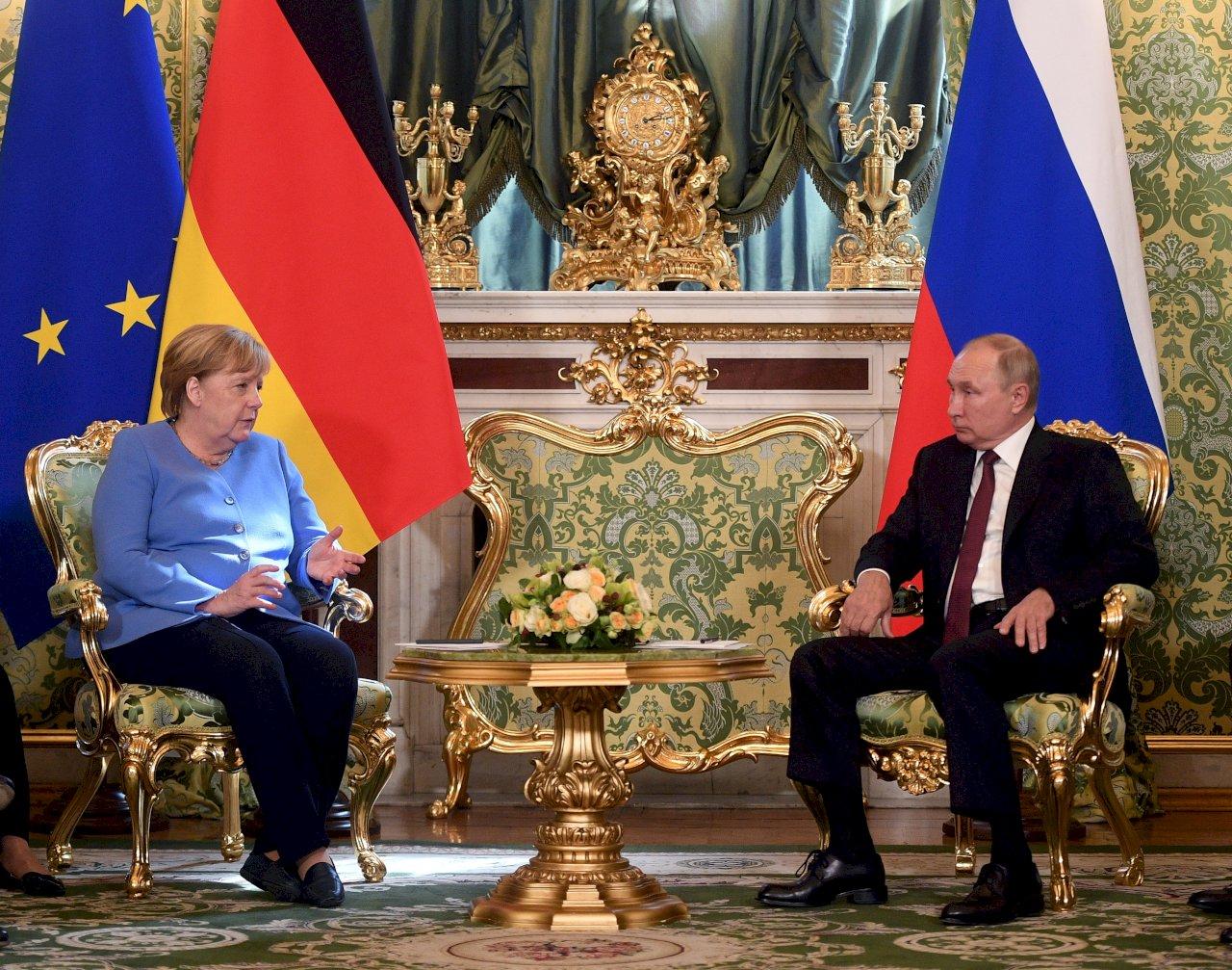 梅克爾:德俄歧見雖深 仍應持續對話