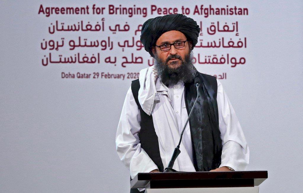塔利班共同創建人抵達喀布爾 討論建立新政府事宜