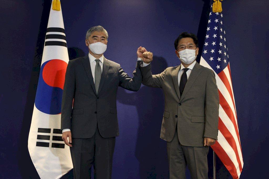 促北韓重回核武談判 美國、南韓特使今會面