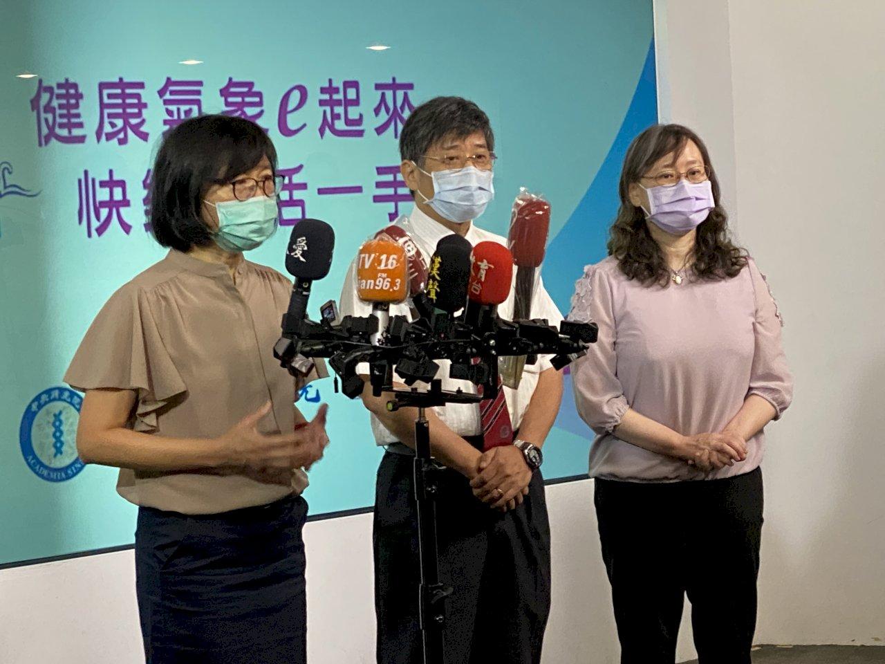 降低天氣對健康的危害 行政團隊首創「健康氣象APP」上線