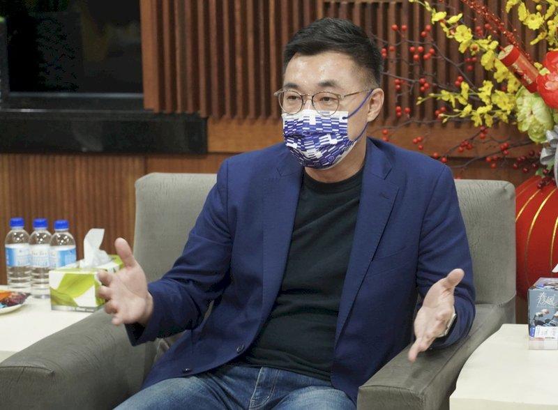 江啟臣:主張統一在台屬少數  黨應貼近主流民意