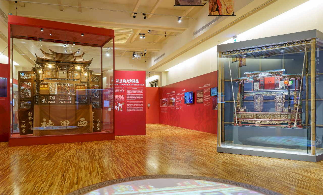 台博館復甦傳統文化  推百年戲偶展