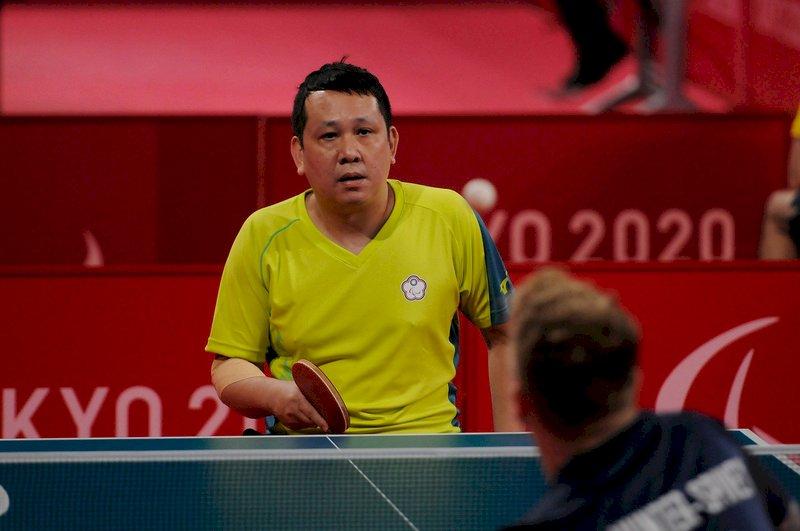 程銘志東京帕運桌球小組賽吞敗  晉級仍有望