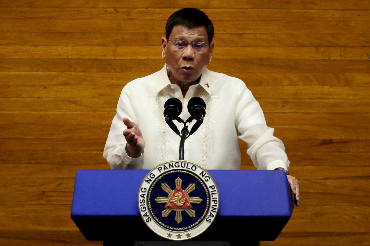 國際刑事法院調查毒品戰爭 菲律賓:杜特蒂不會配合調查