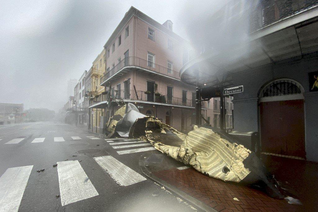 颶風艾達直撲紐奧良 當地電力輸送嚴重中斷